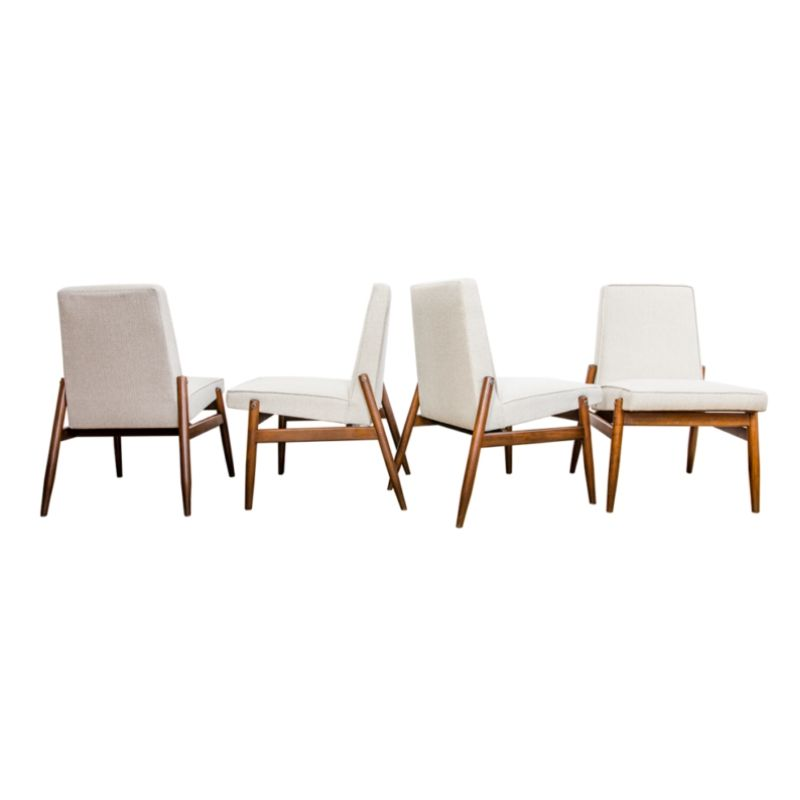 Lounge Chairs Model 300-227 for ZMF 1960s, Set of 4