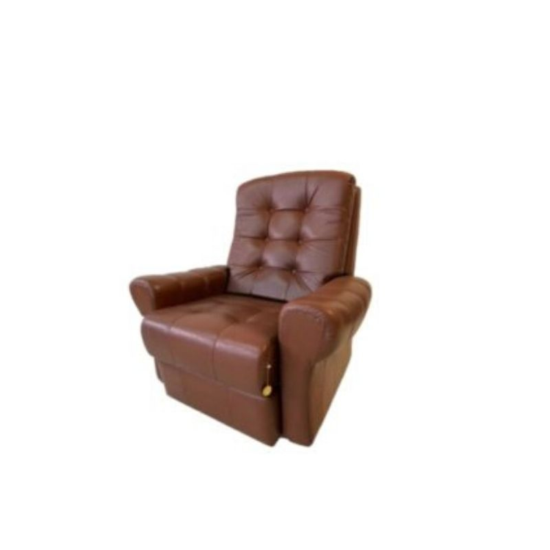 Leather armchair – Himolla – Germany, 1970s.