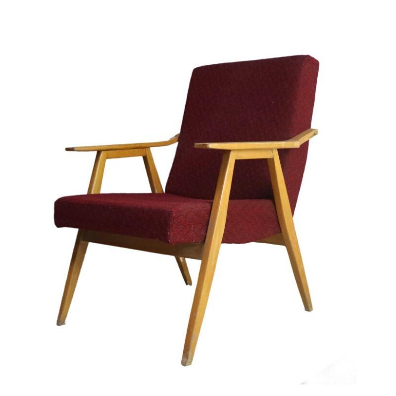 1960's Czech mid century armchair (2 available)