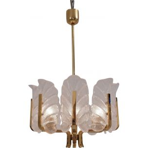 SITTING DEER  BRASS-PLATED LAMP SHADE FINIAL