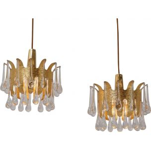 pair-of-suspensions-by-ernst-palme-for-palwa-in-gilded-brass-and-german-crystal-1960