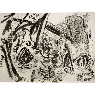 vintage-malcolm-morley-print-untitled-american-1982