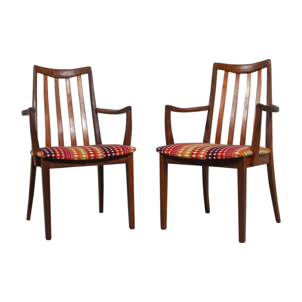 Pair of vintage dining chairs by Gplan, 1960s