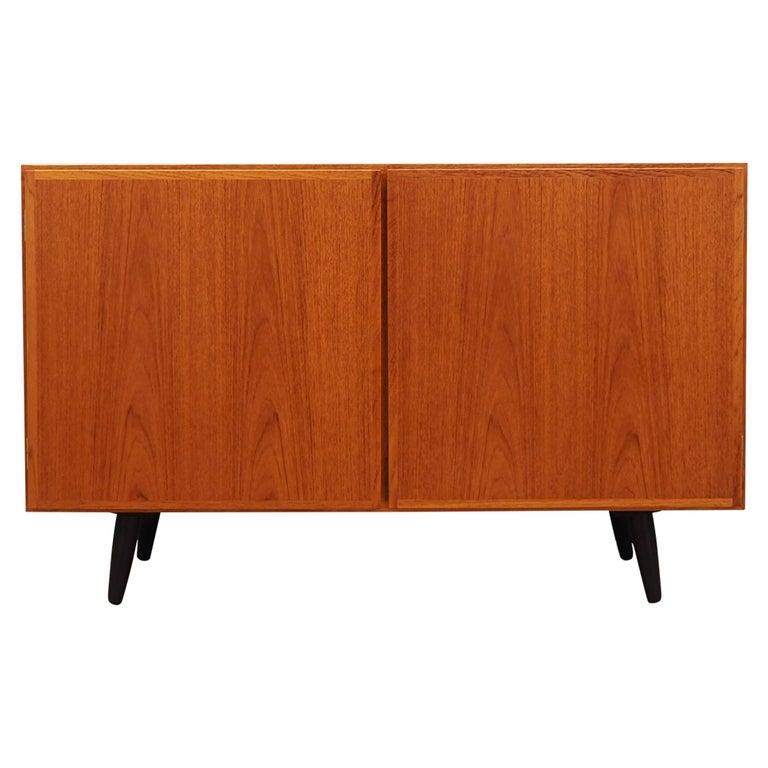 Cabinet teak, Danish design, 60's, producer: Omann Jun