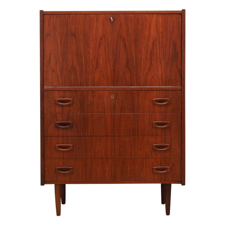 Chest of drawers teak, Scandinavian design, 70's