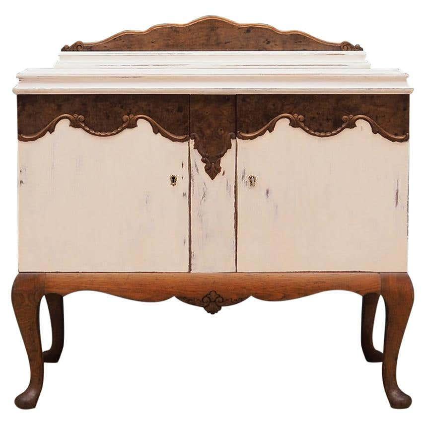 Oak cabinet, Swedish design, 50's