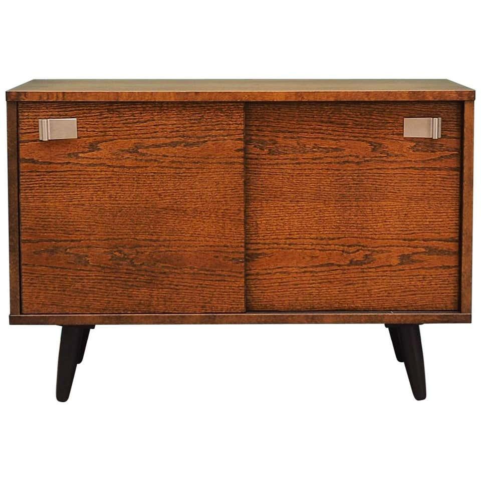 Cabinet oak, Danish design, 60's