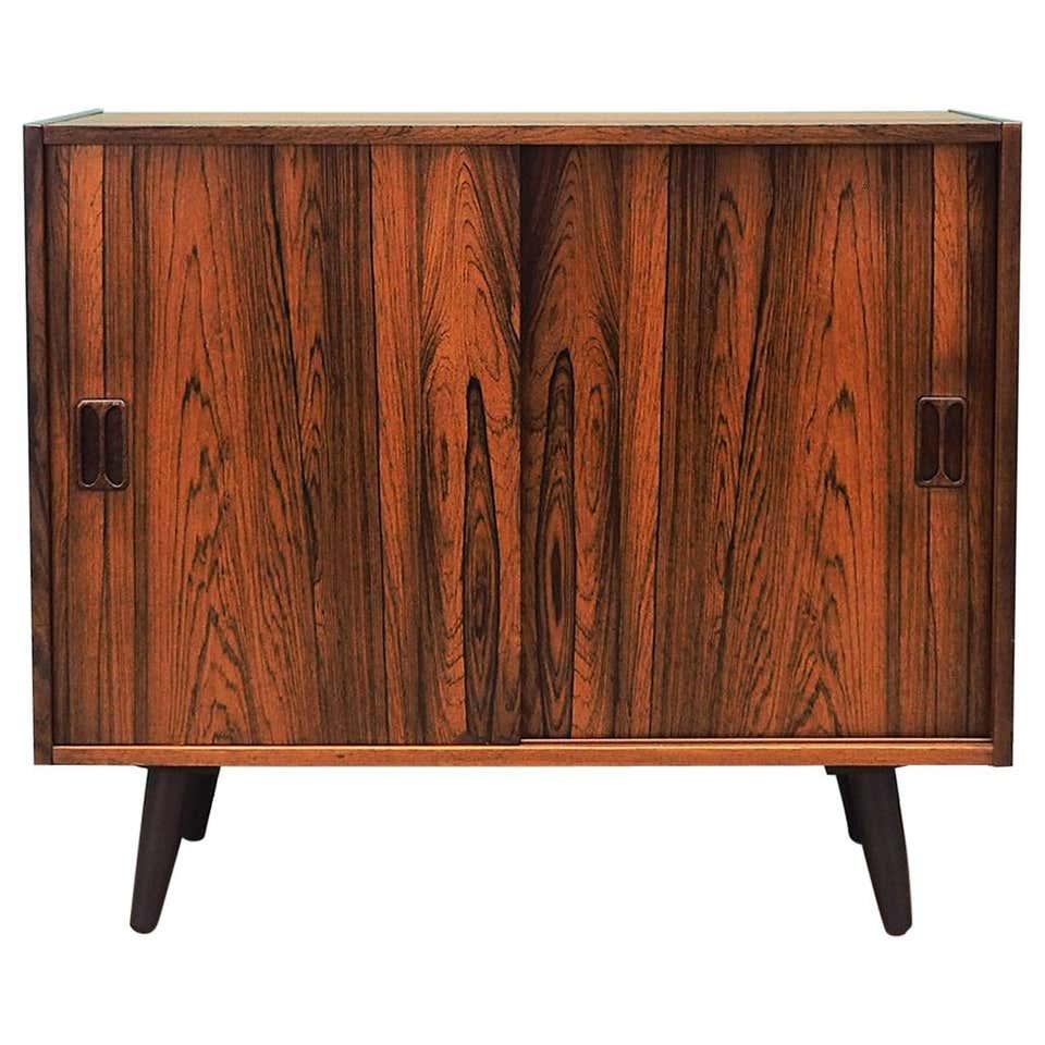 Rosewood cabinet, Danish design, 1960s, designer: Thorsø