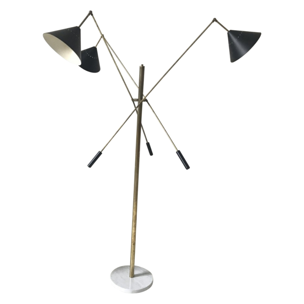 Italian Floor Lamp in the Style of 1960 Angelo Lelli (Arredoluce)