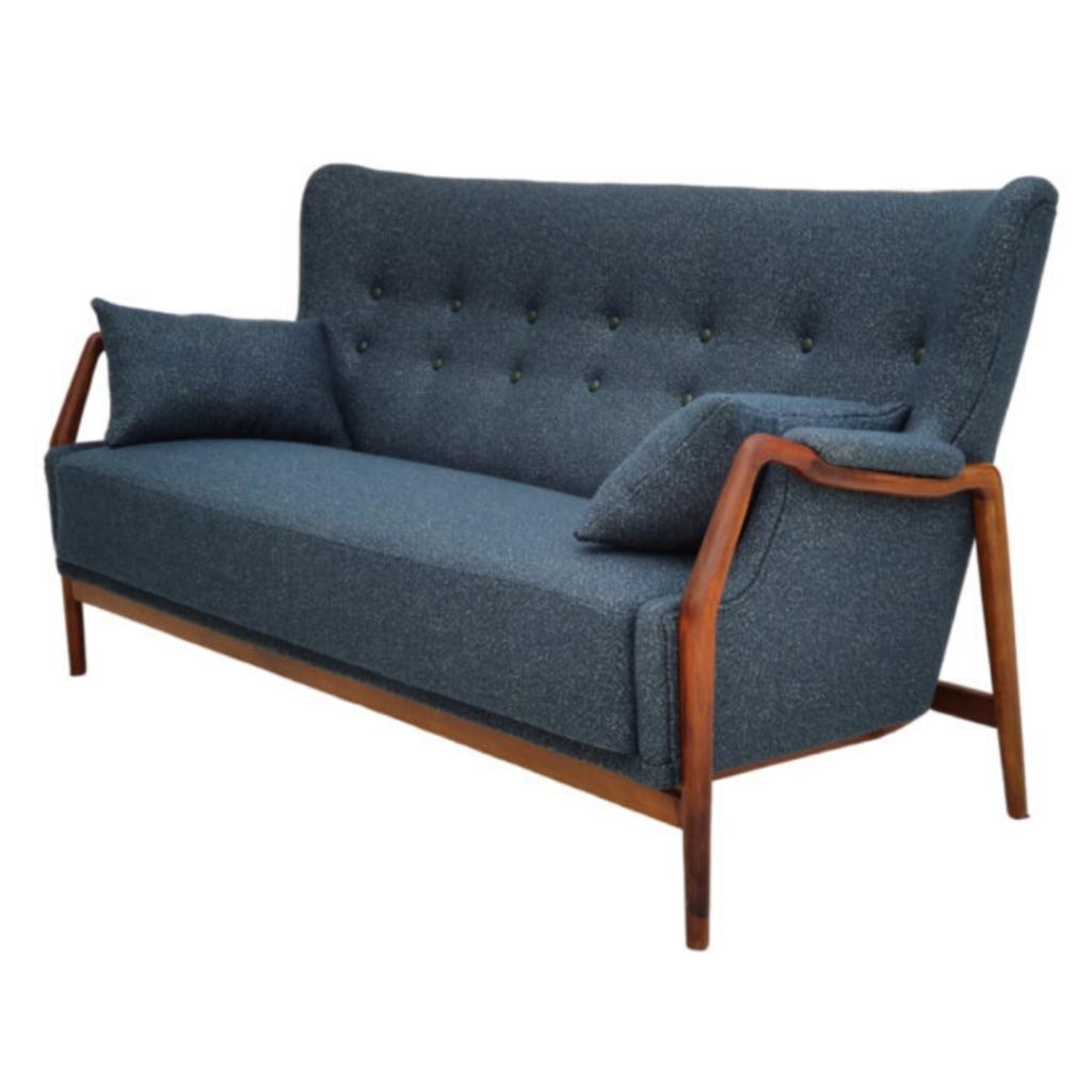 Danish Sofa By Kurt Olsen 60s