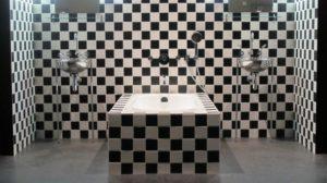 Andrée Putamn - Bathroom of the Morgans Hotel, NYC