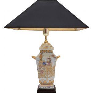 vintage-chinoiserie-porcelain-lamp-temple-jar-english-1980s