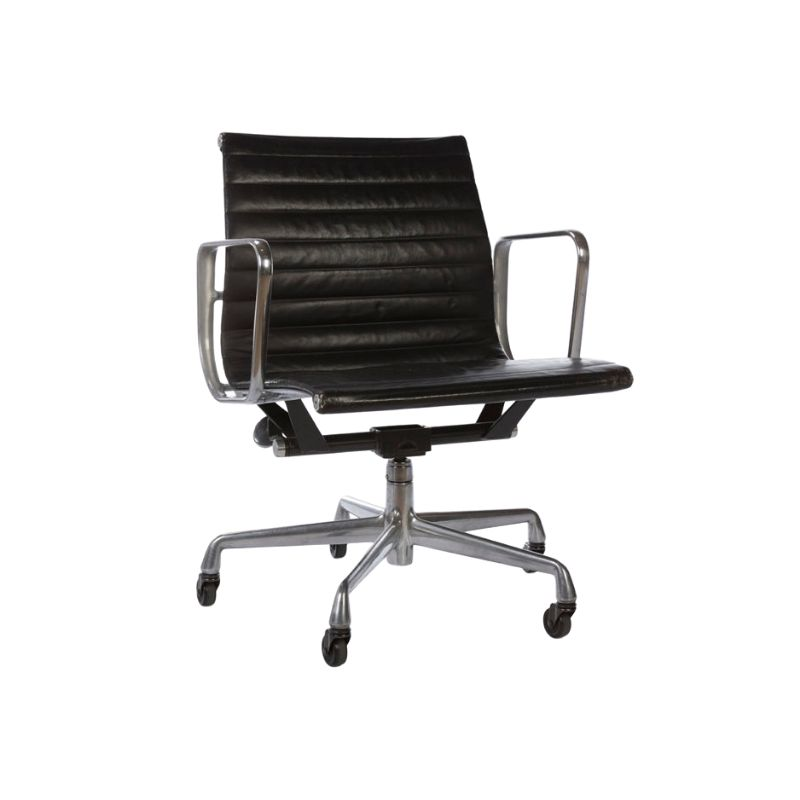 Black Herman Miller Original Eames EA335 Office Chair Castor Base
