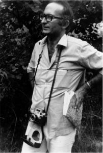 Alberto Ponis in the early 1970s