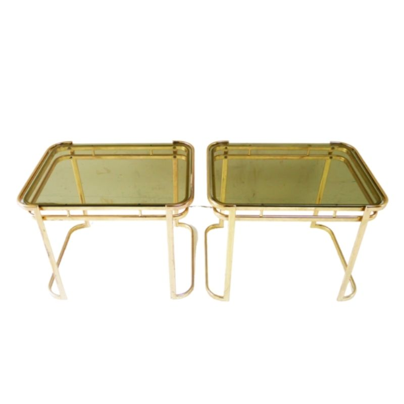 Italian 1960's mid century small side table (2 available)