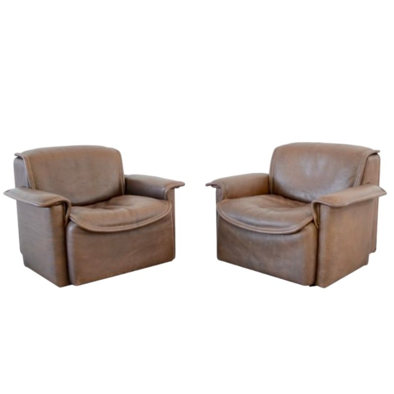 De Sede ds 12 armchairs vintage design