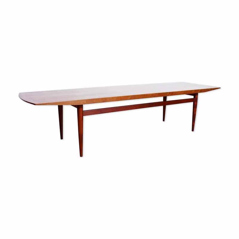 grande table basse teck