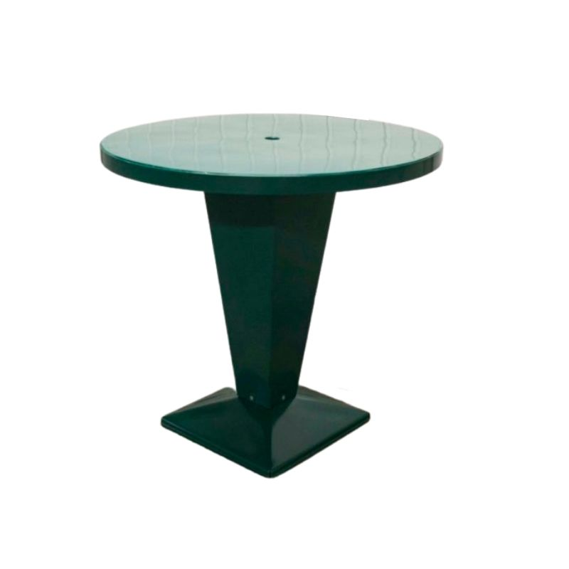 "Bistro table Tolix ""Kub 80"" 1950 Xavier Pauchard restored powder coated"