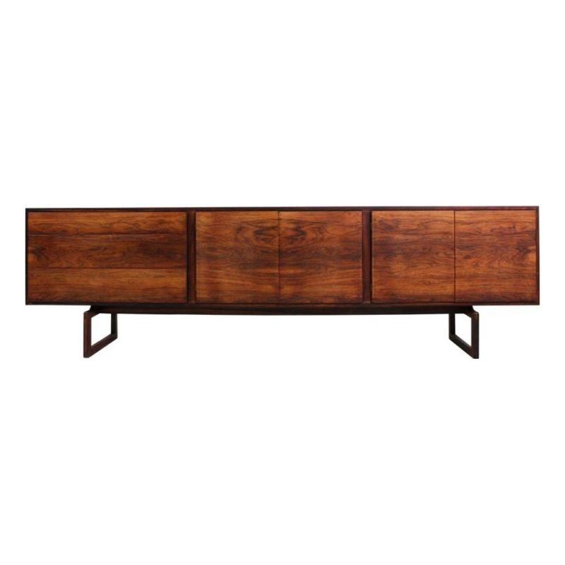 Rosewood Sideboard by Arne Hovmand-Olsen for Mogens Kold, 1960s