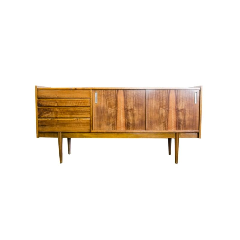Mid Century Sideboard By Bytomskie Furniture Factories 1960's