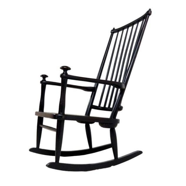 Mid-Century Scandinavian Rocking Chair
