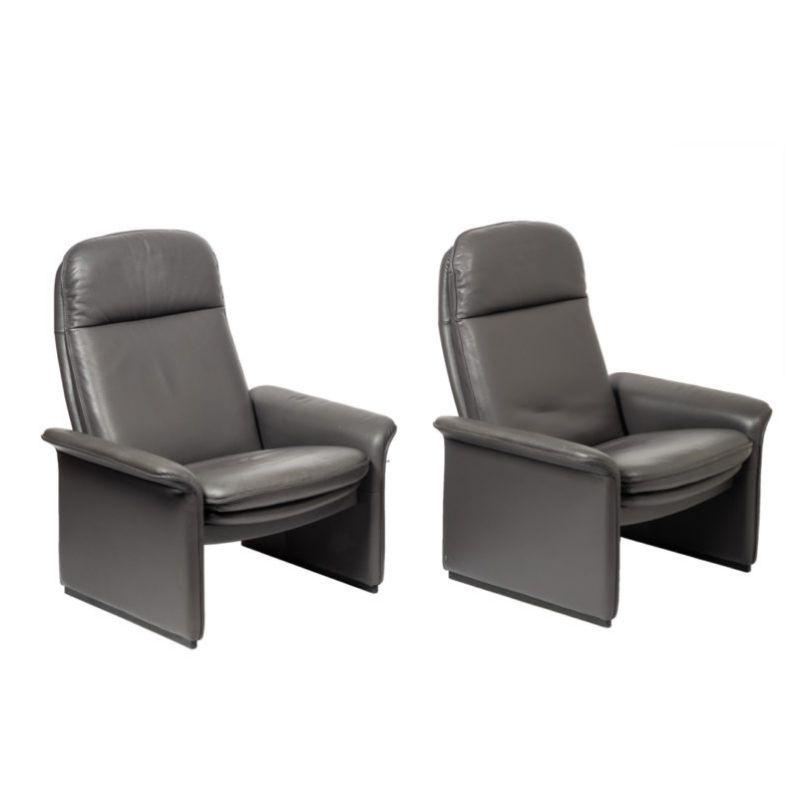 De Sede DS-50 lounge chair, set of 2