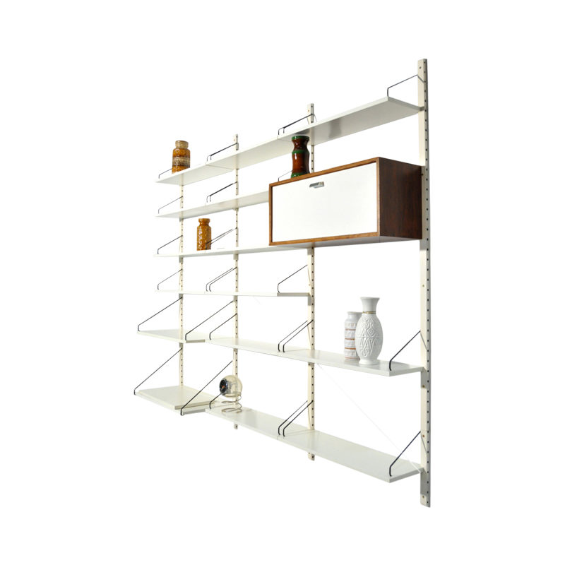 Modular Royal System wall-unit by Poul Cadovius for Cado, 60s
