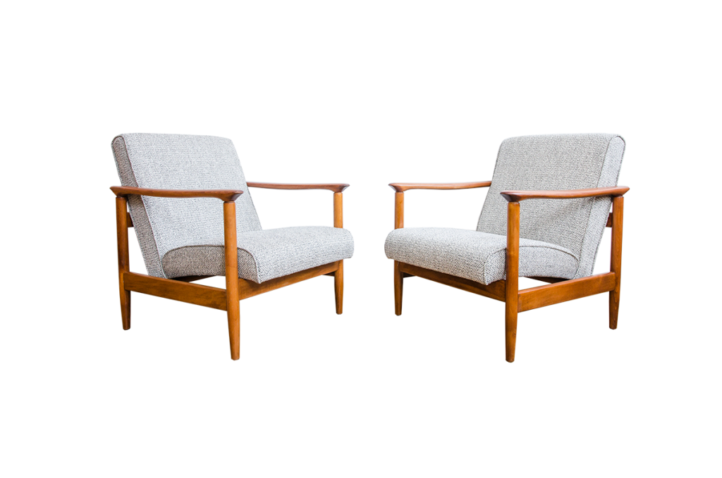 Model GFM 142 Armchairs By Edmund Homa For GFM, 1960s Set Of 2