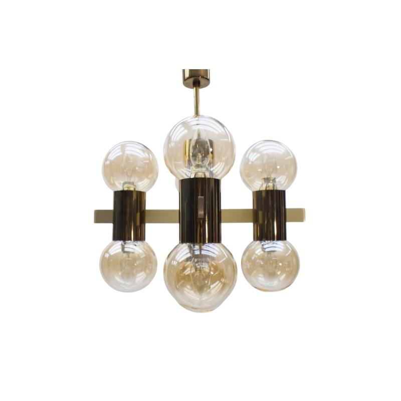 Sputnik Ceiling Lamp by Hans-Agne Jakobsson, 1960s