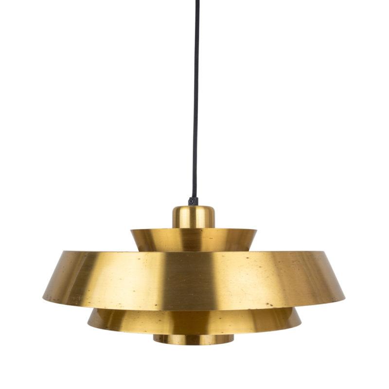 Danish pendant lamp Nova by Jo Hammerborg, Fog og Morup, Denmark, 1963