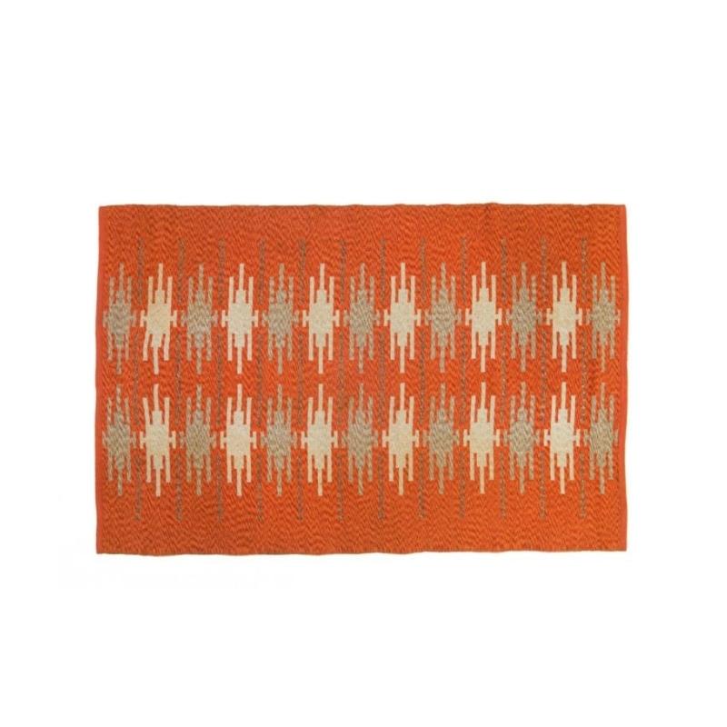 Scandinavian 20th century modern rug. 192 X 129 cm (75.59 X 50.79 in)