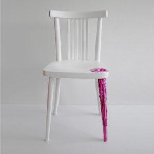 Kintsugi Anna ter Haar chair pink paw