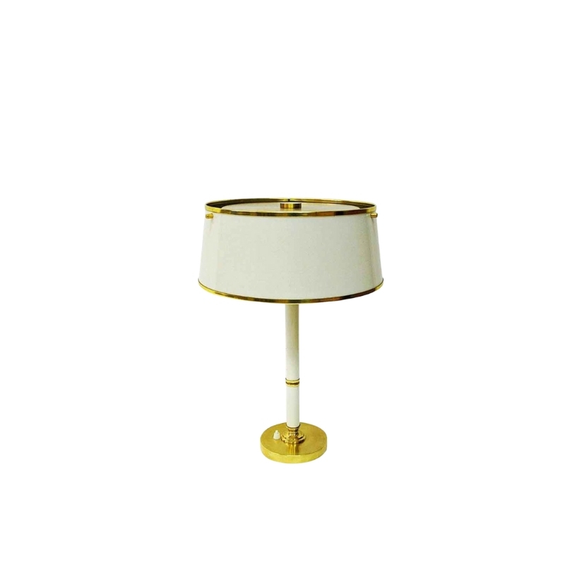Brass and metal table lamp by Borèns Borås, 1960s Sweden