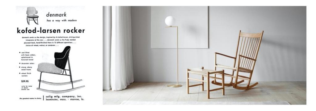 Modernist Rocking chairs