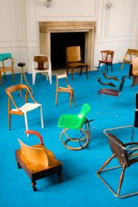 kintsugi chairs eclectic mixture Martino Gamper