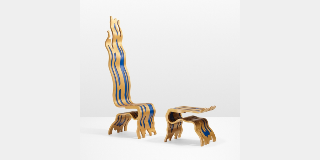 Roy Lichtestein chair Pop Art
