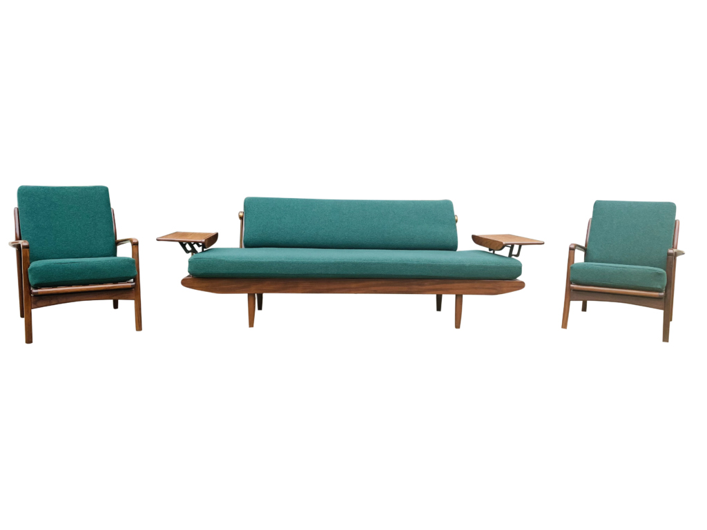 Toothill Three Piece Sofa & Lounge Chairs