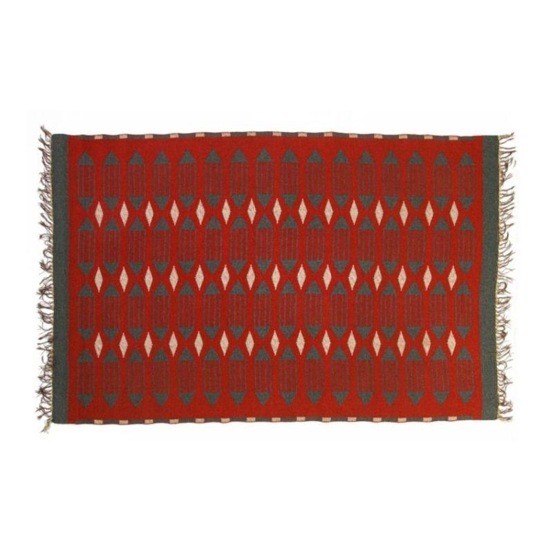 Scandinavian 20th century modern rug. 200 x 130 cm (78.74 x 51.18 in).