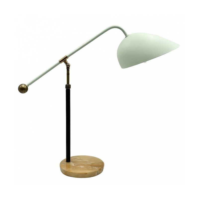 Angelo Brotto, mod. 5023 desk / table lamp, Esperia, Italy, ca. 1950