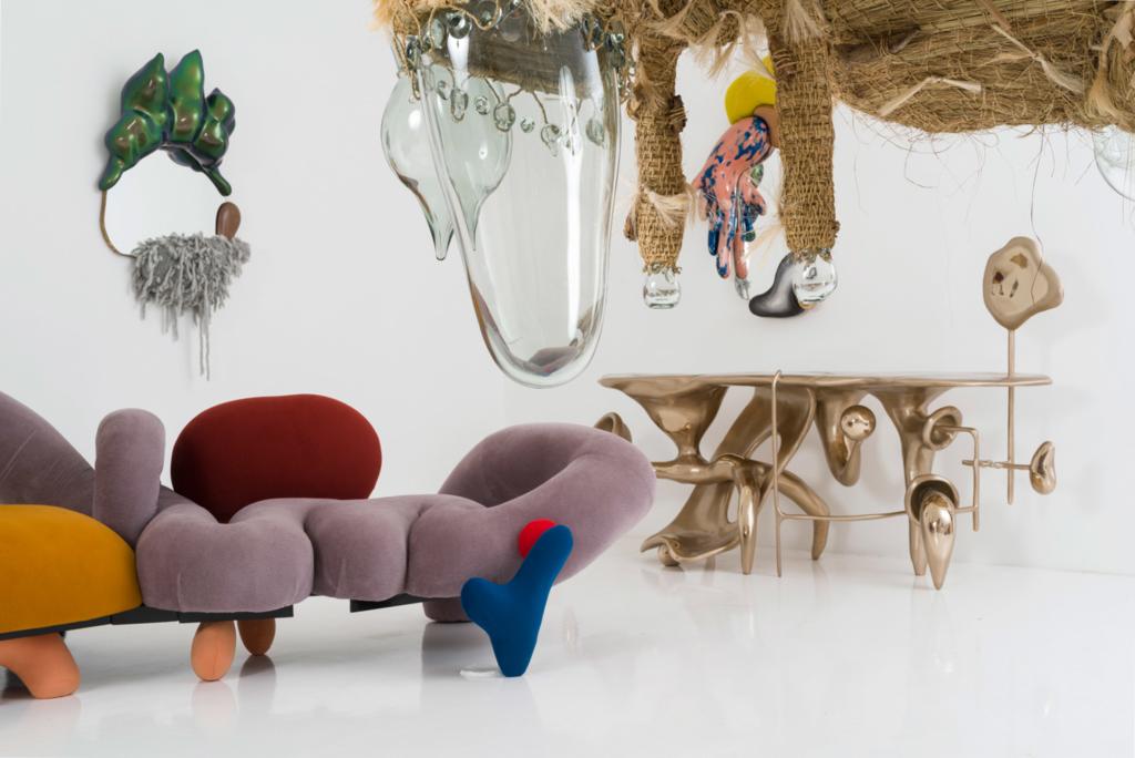 Misha Kahn exhibition art and design