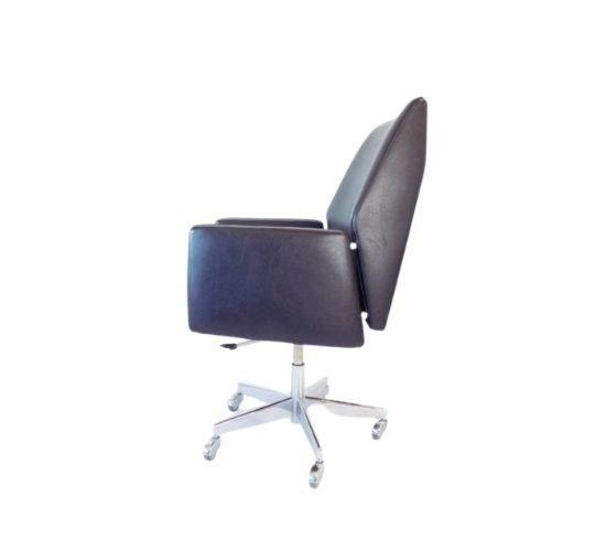 Mauser office armchair black 60s