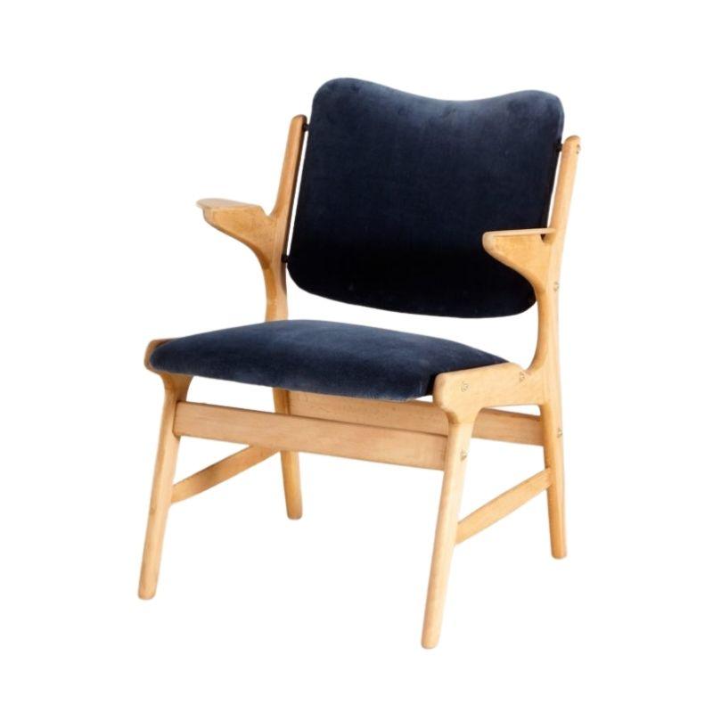 Oak Armchair by Arne Hovmand Olsen for A. R. Klingenberg & Søn, 1950s