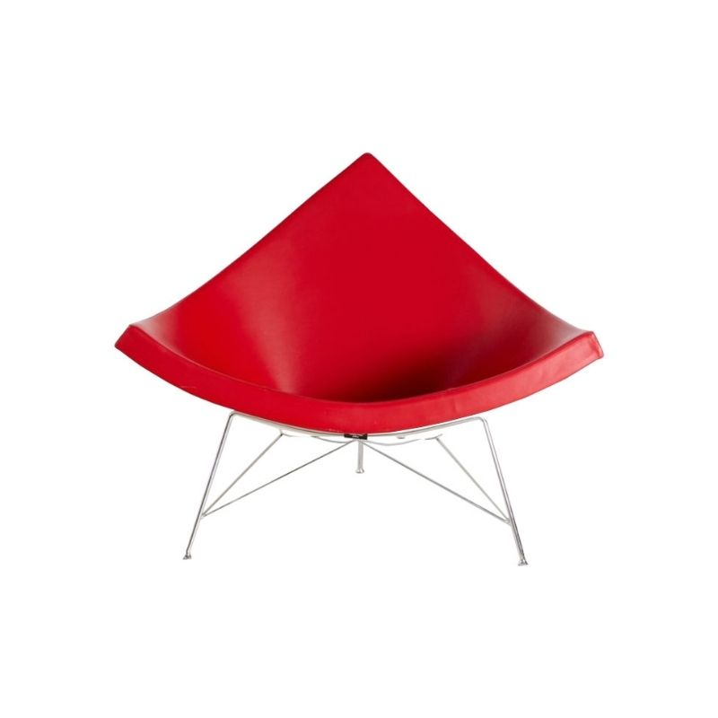 Red Coconut Chair by George Nelson for Vitra, 1955