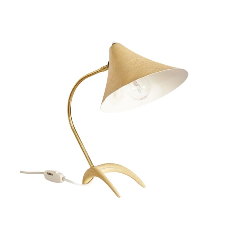 Table Lamp with Crow Feet, 1950s