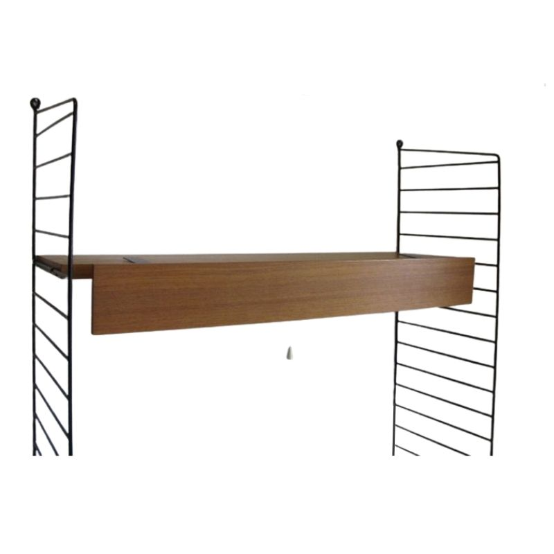 1 x Lighting for String Shelves – Kai Kristiansen , Nils Nisse String , Cado Royal System Poul Cadovius.