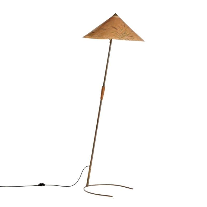 Brass Floor Lamp, 1930s