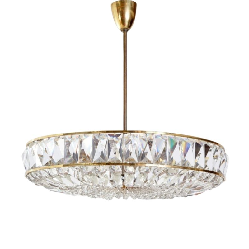 Crystal Chandelier from Bakalowits & Söhne, 1970s