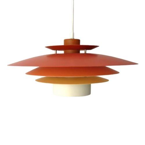 Danish Suspension Lamp, 1980s
