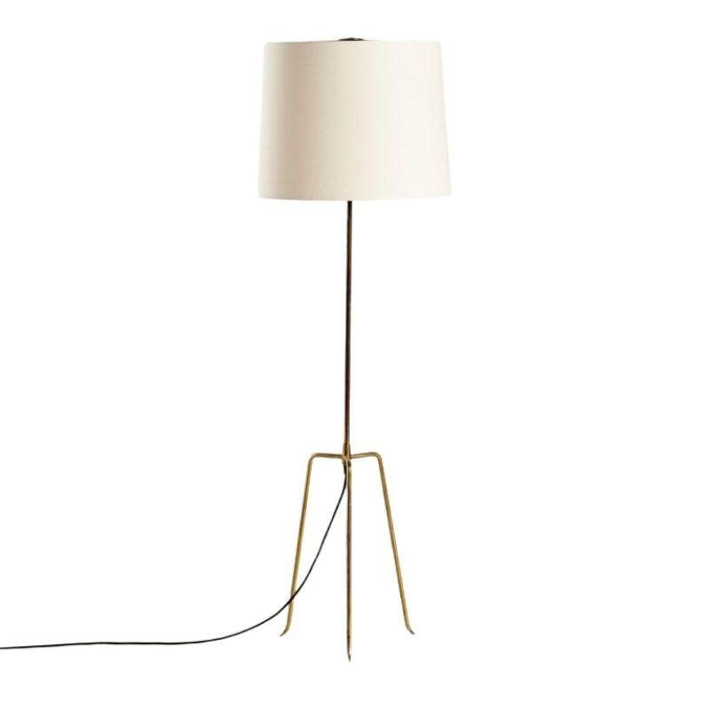 Dreistelz Floor Lamp from J.T.Kalmar, 1950s
