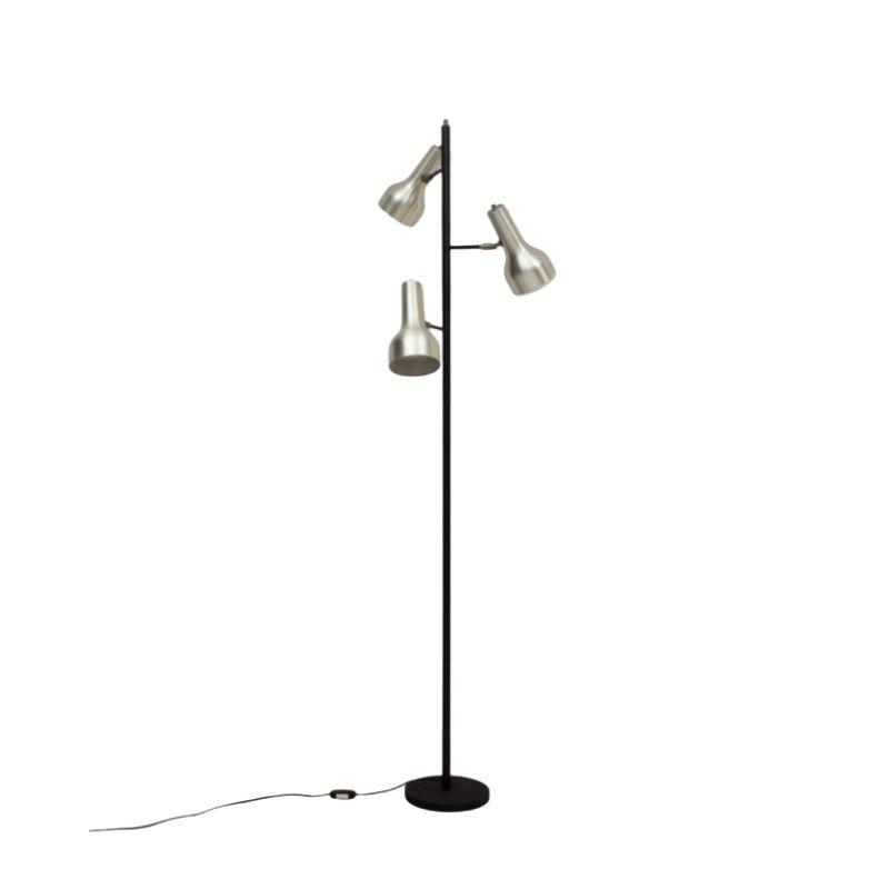 Dutch Chrome 3-Arm Floor Lamp, 1960s